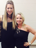 Colbie Caillat with Hilary Barbour
