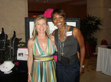Michelle Wright with Hilary Barbour